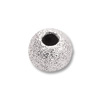 Stardust Beads 3mm Sterling Silver (1-Pc)