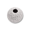 Stardust Beads 4mm Sterling Silver (1-Pc)