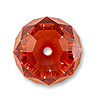 Swarovski 5040 8mm Crystal Red Magma Briolette Bead (1-Pc)