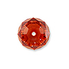 Swarovski 5040 4mm Crystal Red Magma Briolette Bead (1-Pc)