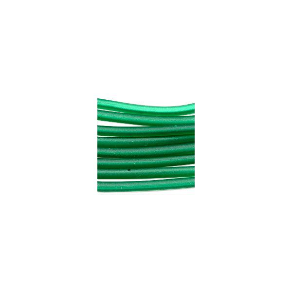Soft Glass Tubing Emerald Hollow Flexible Glass Tubing