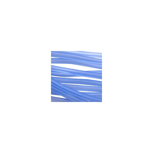 Soft Glass Tubing Light Blue Hollow Flexible Glass
