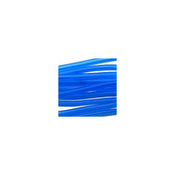 Soft Glass Tubing Dark Blue Hollow Flexible Glass Tubing