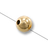 Gold Filled Round Smart Bead 4mm (1-Pc)