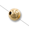 Gold Filled Round Smart Bead 5mm (1-Pc)