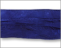 Silk Ribbon Navy Blue