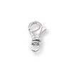 Swivel Lobster Clasp 10.5mm Sterling Silver (1-Pc)