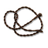 Twisted Cord Necklace 3mm Brown