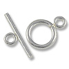 Toggle Clasp 9mm Sterling Silver (Set)