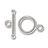 Toggle Clasp 12mm Sterling Silver (Set)