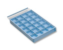 Easy Out Storage Tray w/24 Compartments 8