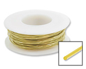 Brass Wire 22ga Round (20-Ft)