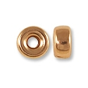 Rondelle Bead 4mm Rose Gold Filled (1-Pc)