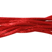 Satin Cord 2mm  Red (1-Yard)