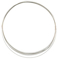 Sterling Silver Wire Round Half Hard 26ga (1-Ft)