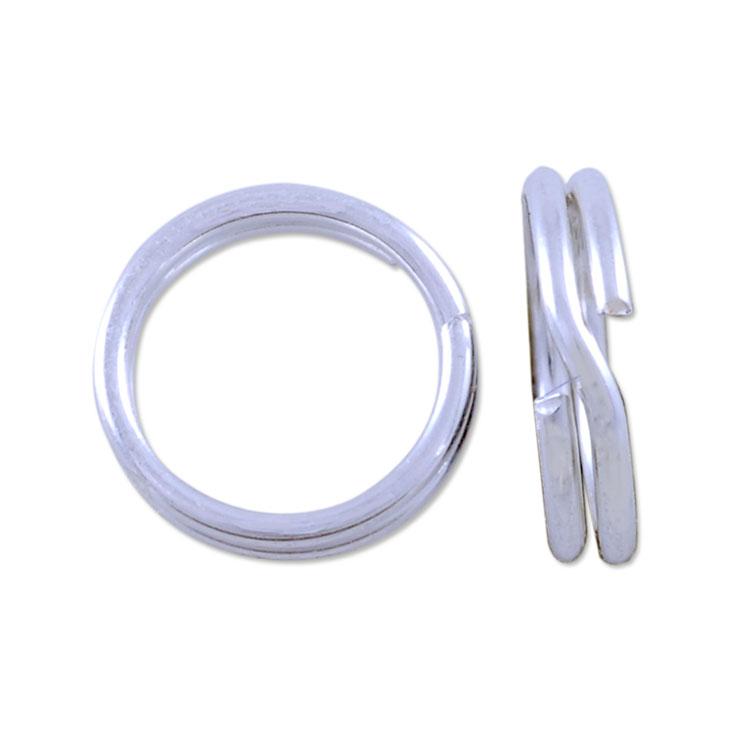 split ring 6mm sterling silver how to open jewelry split