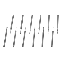 12 Piece Replacement Hand Drill Set