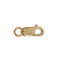 Lobster Clasp 7mm 14k Yellow Gold (1-Pc)