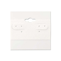Hanging Earring Cards White 2