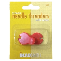 Needle Threader with Cutter (2-Pcs)