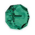 Swarovski 5045 Bead 6mm Emerald Rondelle Bead (1-Pc)