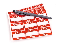 Sale Adhesive Price Label (504-Pcs)