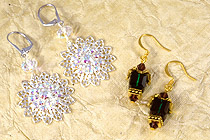 Fall and Winter Earring Projects by JewelrySupply.com