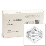 Swarovski 5328 8mm Crystal Bicone Bead (Factory Pack of 288)