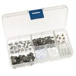 300 Piece Earring Back Kit (7 Styles of Earring Backs)