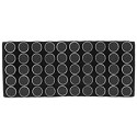 Gemstone Black Foam Tray Liner with 50 Cups