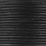 Leather Cord 1mm Black (1 Yard)
