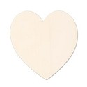 "Brass Large Heart 24 Gauge Blank 1 3/8"" x 1 1/2"""