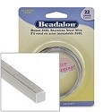 Beadalon Stainless Steel 22 Gauge Square Wire