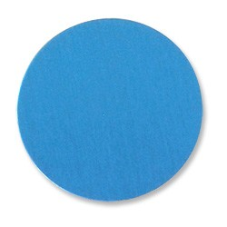 "Lillypilly Aluminum Blank Round 1"" Turquoise 22ga"