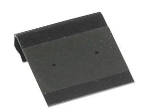 stud earring cards with black flocked size 1x1. Black Bedroom Furniture Sets. Home Design Ideas