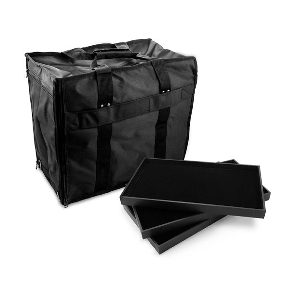 jewelry carrying case kit with trays and pads on sale