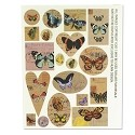 Butterfly Collage Sheets by Nunn Design