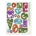 Silhouette Collage Sheets by Nunn Design