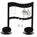 Music Note Earring Rack Jewelry Display (Holds 12 Pairs)