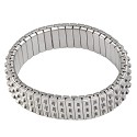 Expansion Stretch Bracelet Finding 3-Row Stainless Steel (1-Pc)