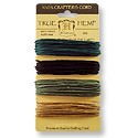 Hemp Cord 4 Color Set 1mm Camouflage