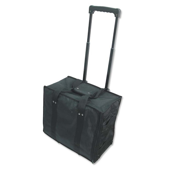 "Carrying Case with Wheels (11-1"" Trays)"