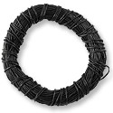Leather Cord 0.5mm Black (25 Yards/75 Feet)