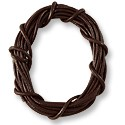 Leather Cord 1mm Brown (5 Foot Pack)