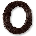 Leather Cord 1mm Brown (30 Foot Pack)