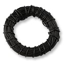 Leather Cord Black 2mm (25 Yards)