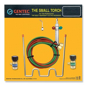 Portable Small Jewelers Torch Oxygen and Propane Kit