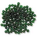 Preciosa Czech Seed Bead 6/0 Transparent Emerald (10 Grams)