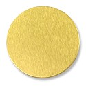 "Lillypilly Aluminum Blank Round 1"" Gold 22ga"