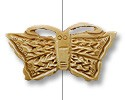 Bone Butterfly Bead Pendant 60x34mm (1-Pc)